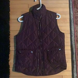 Dark purple vest - GREAT condition!